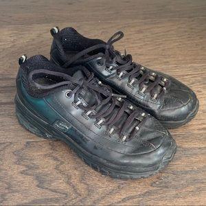 Skechers Work Leather Slip Resistant Sneakers